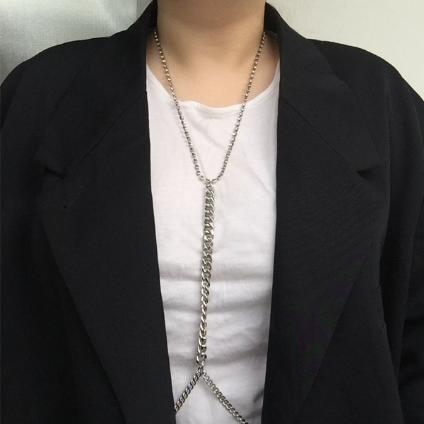 CUBIC CHAIN BODY JEWELRY