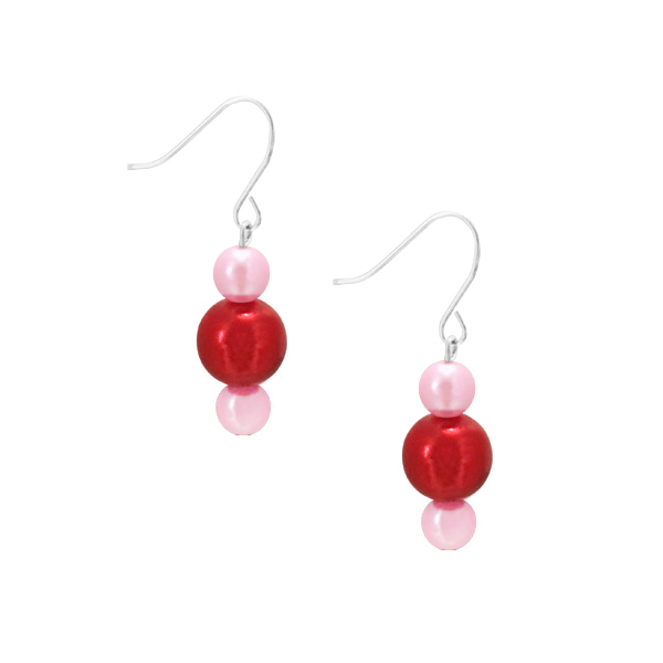 BUBBLE EARRING | PINK MIX