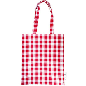 GINGHAM CHECK ECO-BAG | RD