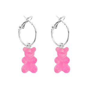 PLAIN BEAR EARRING | PK