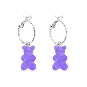 PLAIN BEAR EARRING | PP