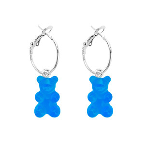 PLAIN BEAR EARRING | BL
