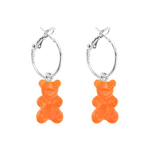 PLAIN BEAR EARRING | ORG