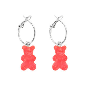 PLAIN BEAR EARRING | RD