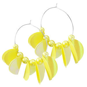 BANANA CHIP EARRING