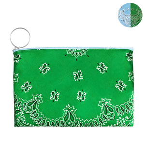HALF and HALF BANDANA POUCH | SG