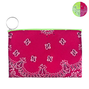 HALF and HALF BANDANA POUCH | LP