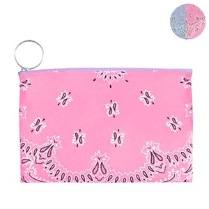 HALF and HALF BANDANA POUCH | PL
