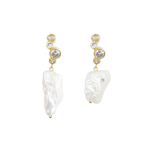 SOLE PEARL EARRING | WH