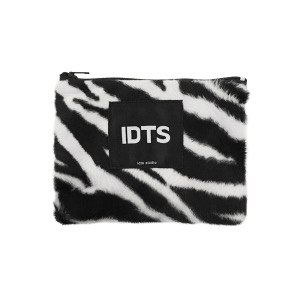 [H; C] ZEBRA FUR COIN PURSE *한정