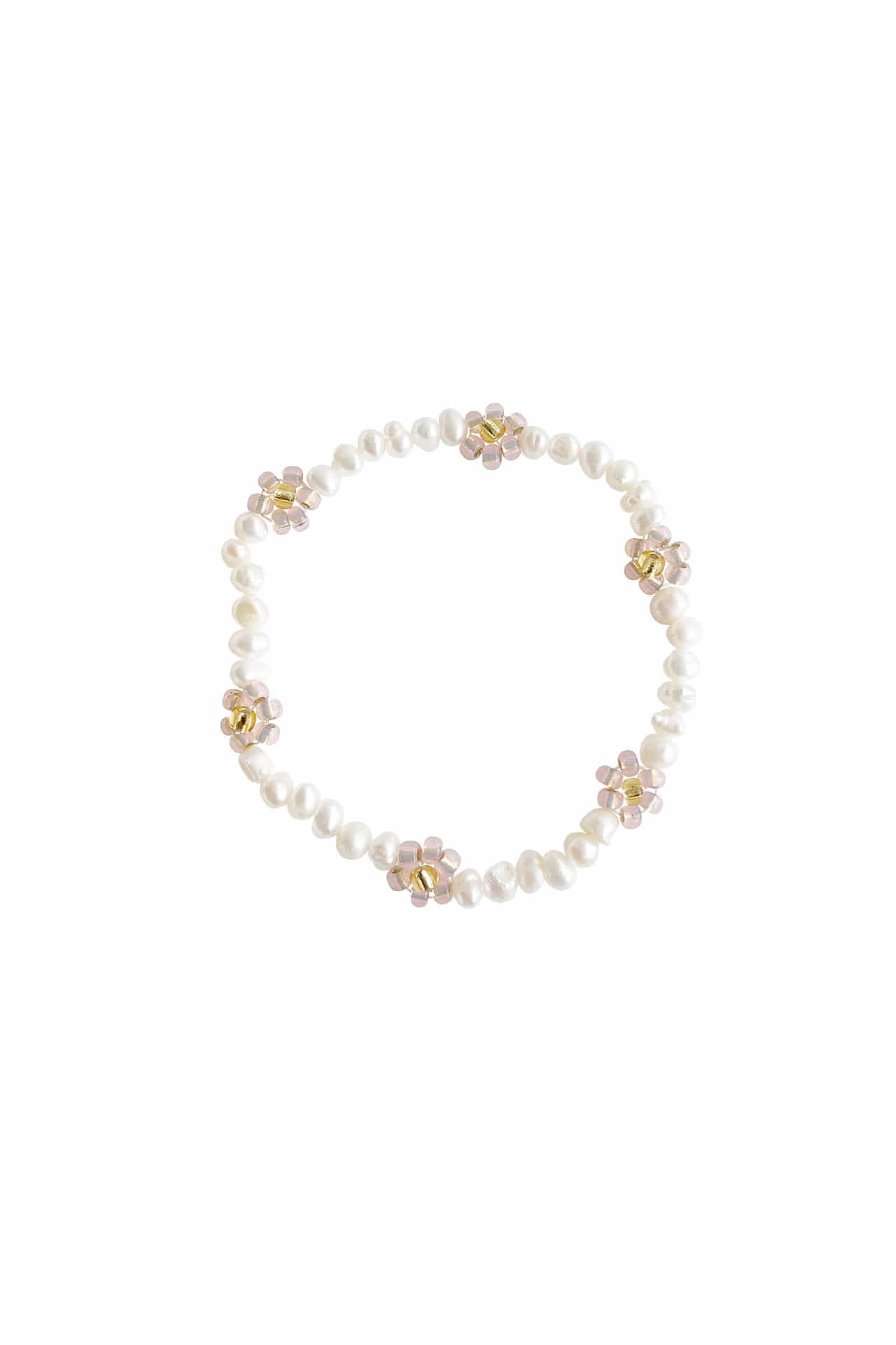 Butter Flower Bracelet | Peach
